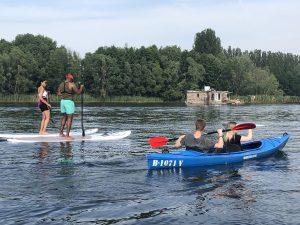 Kajak Kayak SUP Berlin Ahoi Ostkreuz Rummelsburger Bucht
