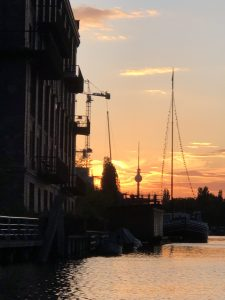 Kajak Kayak Berlin Ahoi Ostkreuz Sundwoner Rummelsburger Bucht